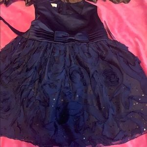 New with tags baby girl blue dress